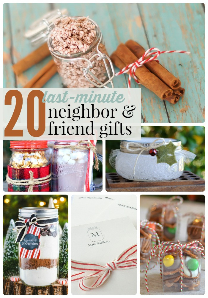 Best ideas about Last Minute Gift Ideas For Friend . Save or Pin Great Ideas 20 Last Minute Neighbor and Friend Gifts Now.
