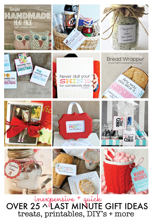 Best ideas about Last Minute Gift Ideas For Friend . Save or Pin 25 Inexpensive Last Minute Gift Ideas Now.