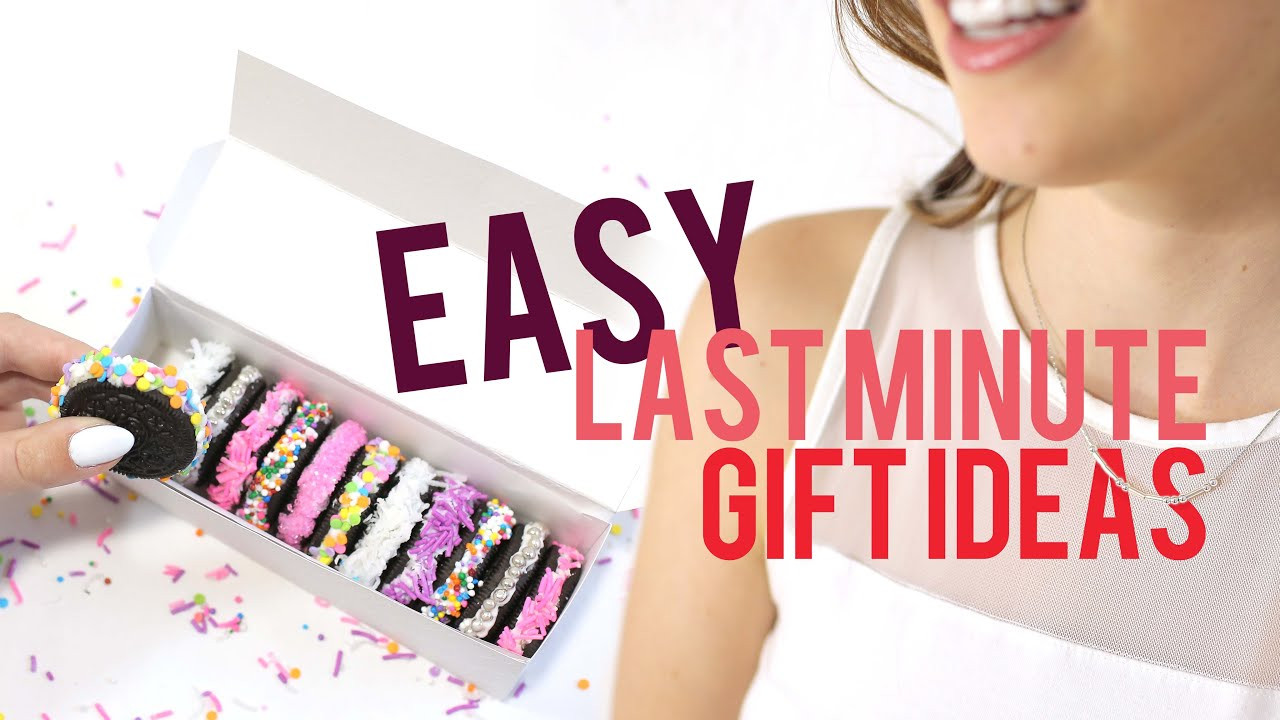 Best ideas about Last Minute Gift Ideas For Friend . Save or Pin EASY LAST MINUTE GIFTS TO DIY Now.
