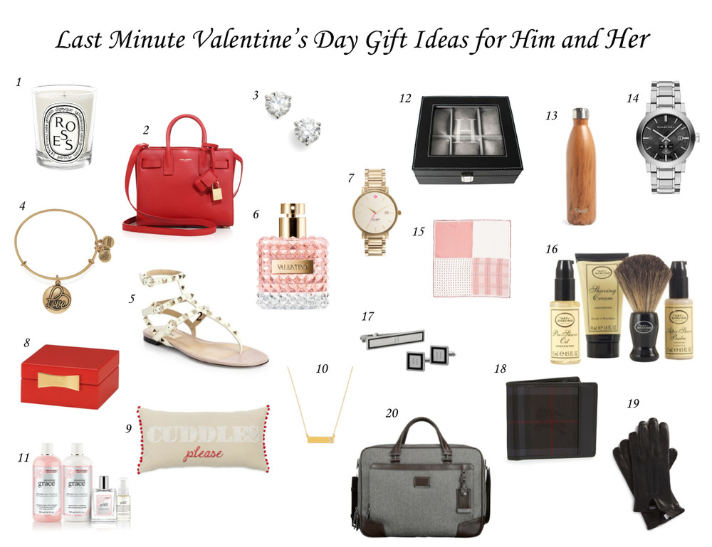 Best ideas about Last Minute Gift Ideas For Him . Save or Pin Last Minute Valentine s Day Gift Ideas for Him and Her Now.