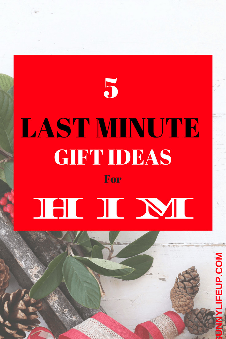 Best ideas about Last Minute Gift Ideas For Him . Save or Pin 12 Days to Christmas Last Minute Gift Ideas for Him Now.