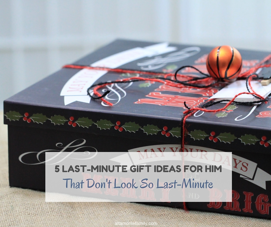 Best ideas about Last Minute Gift Ideas For Him . Save or Pin 5 Last Minute Gift Ideas For Him That Don t Look So Last Now.