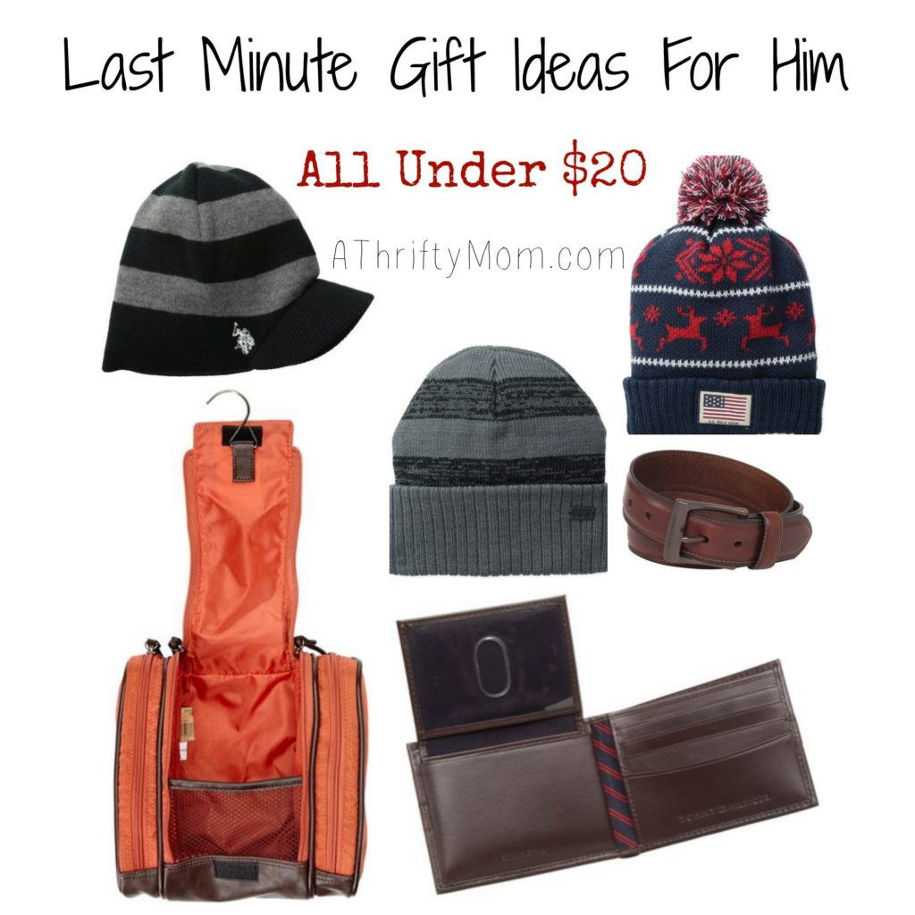 Best ideas about Last Minute Gift Ideas For Him . Save or Pin Last Minute Gift Ideas for Him All Under $20 Now.