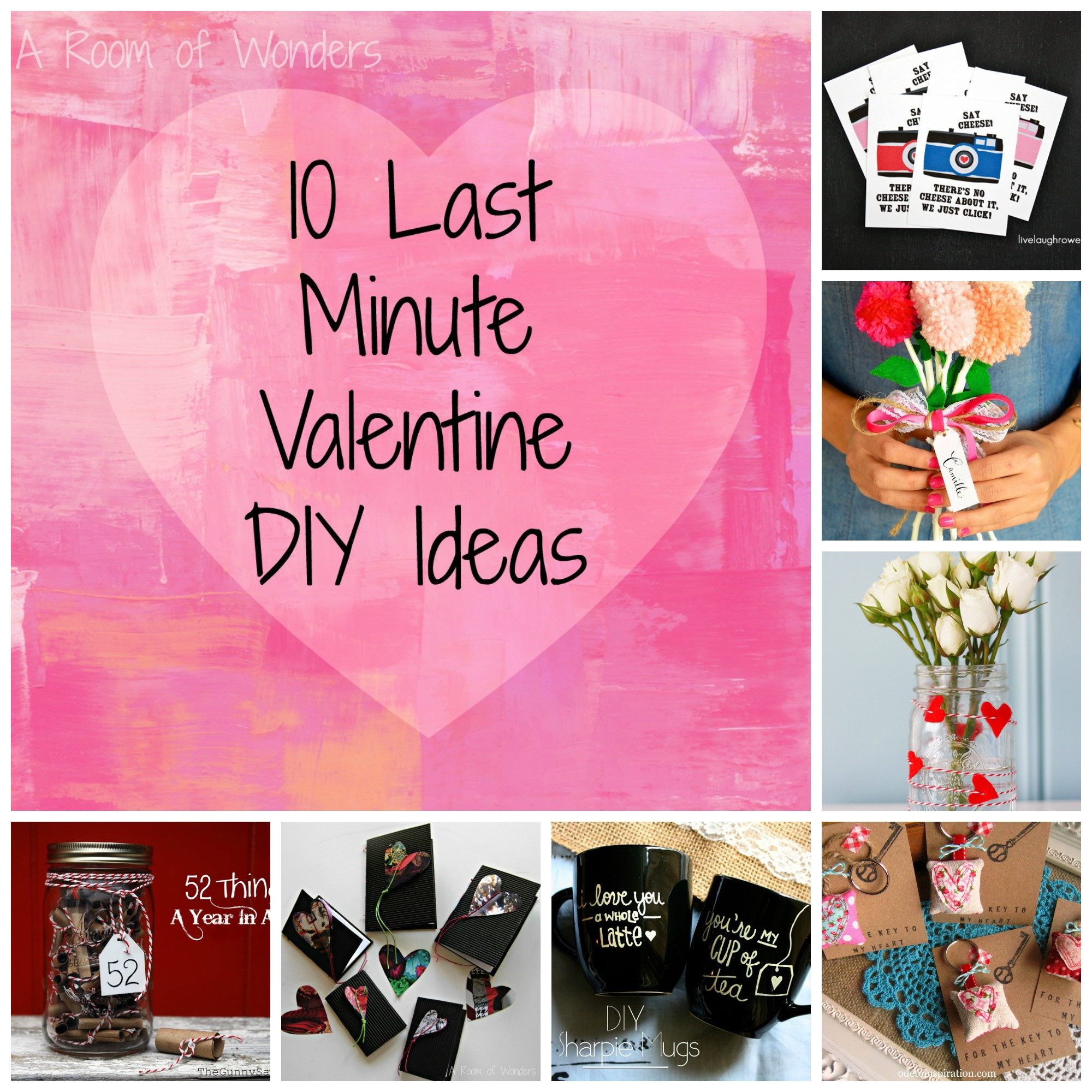 Best ideas about Last Minute Gift Ideas For Him . Save or Pin Projects I like 10 Last Minute Valentine DIY Ideas – A Now.