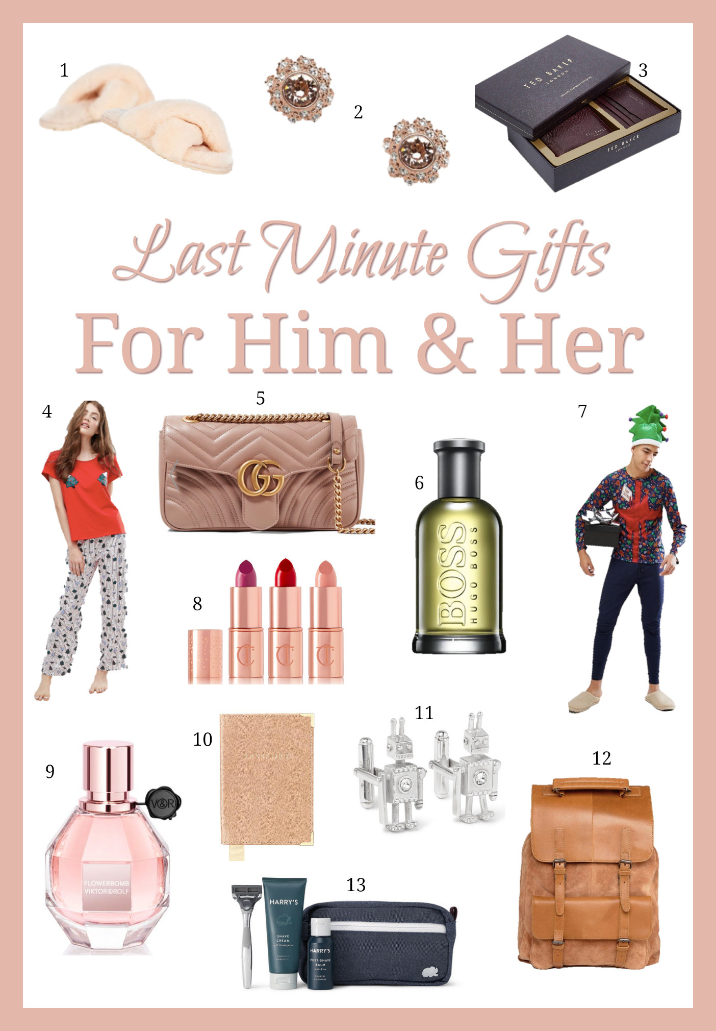 Best ideas about Last Minute Gift Ideas For Him . Save or Pin Last Minute Gift Guide For Him & For Her Fashion Mumblr Now.