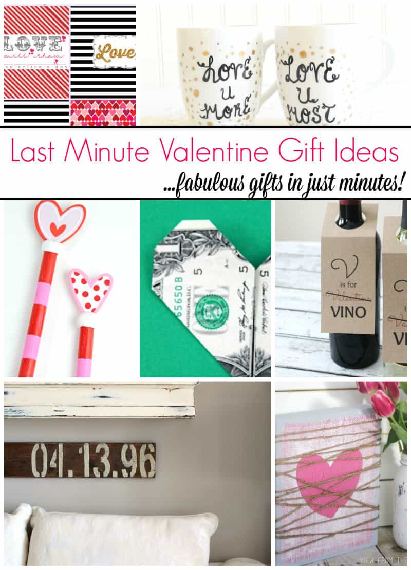 Best ideas about Last Minute Gift Ideas For Wife . Save or Pin 10 Super Easy Last Minute Valentine Gift Ideas Page 2 of Now.