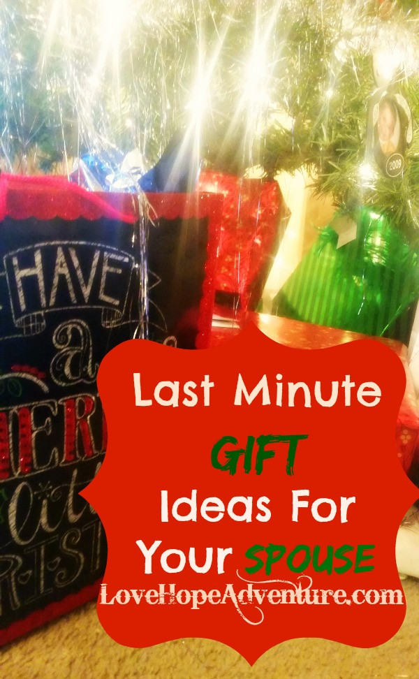 Best ideas about Last Minute Gift Ideas For Wife . Save or Pin Last Minute Gift Ideas For Your Husband or Wife Now.