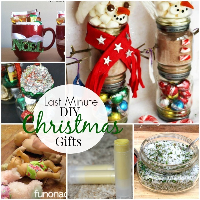 Best ideas about Last Minute Gift Ideas For Wife . Save or Pin Last Minute DIY Christmas Gifts Roundup Now.