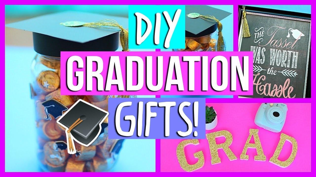 Best ideas about Last Minute Graduation Gift Ideas . Save or Pin Last Minute DIY Graduation Gifts 2017 Alyssa Ruby Now.
