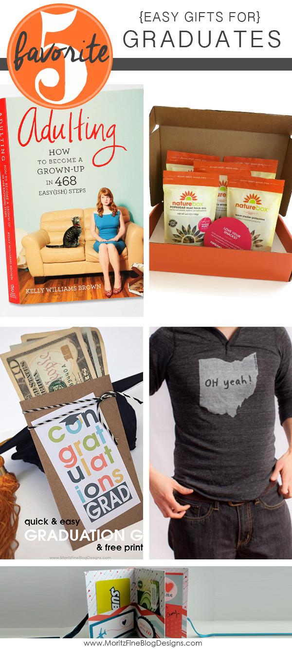 Best ideas about Last Minute Graduation Gift Ideas . Save or Pin 5 Last Minute Graduation Gift Ideas Now.