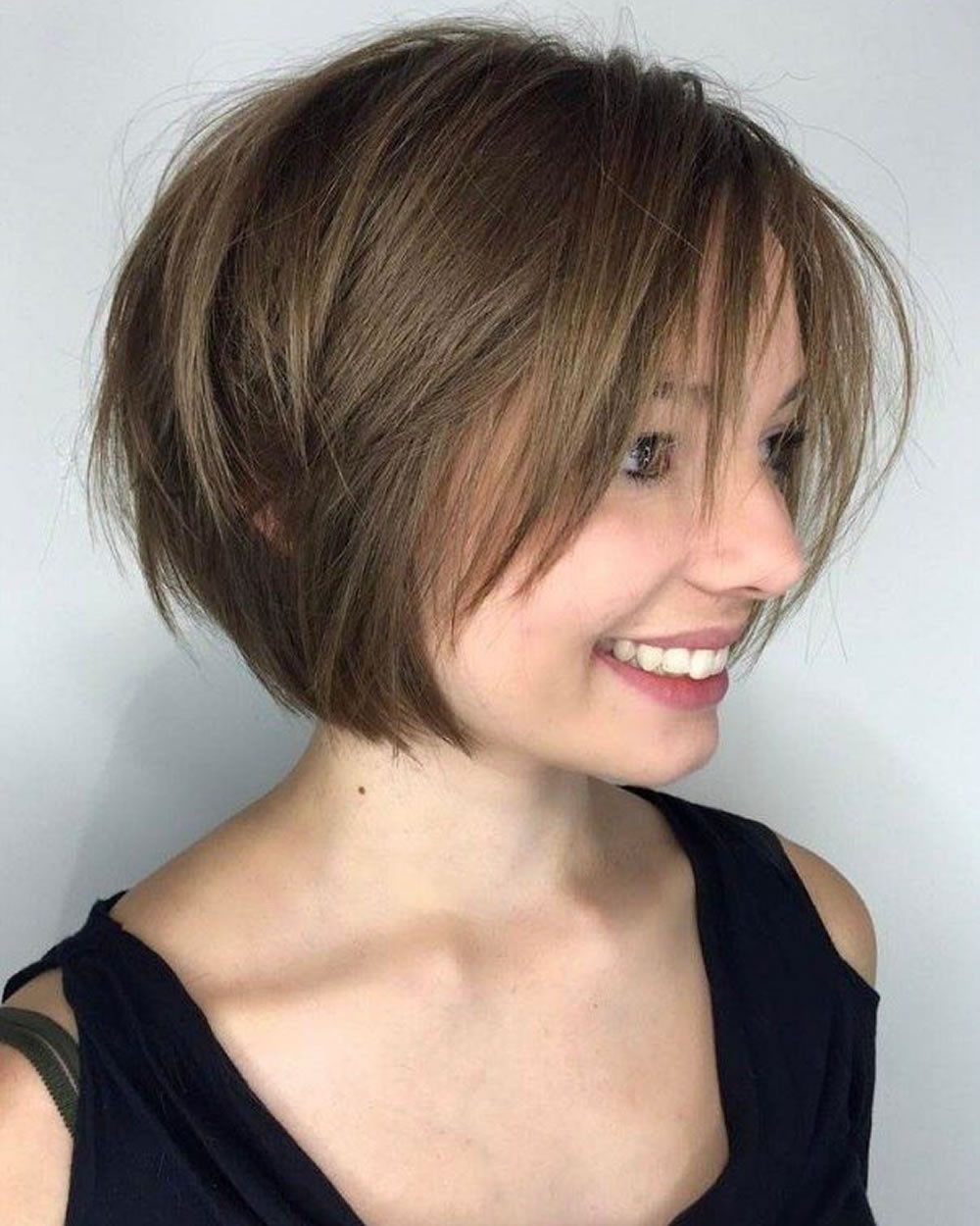 Best ideas about Layered Bob Haircuts 2019 . Save or Pin 30 Best Short Bob Haircuts with Bangs and Layered Bob Now.