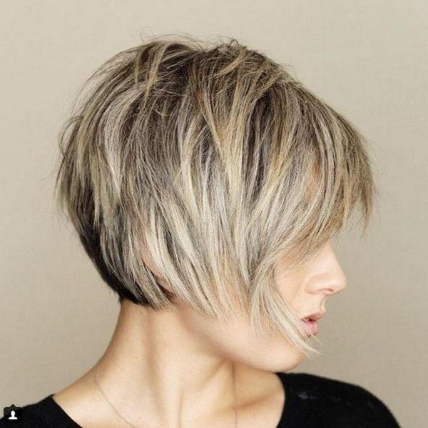 Best ideas about Layered Bob Haircuts 2019 . Save or Pin Messy Short Layered Haircuts 2018 2019 with Bangs Now.