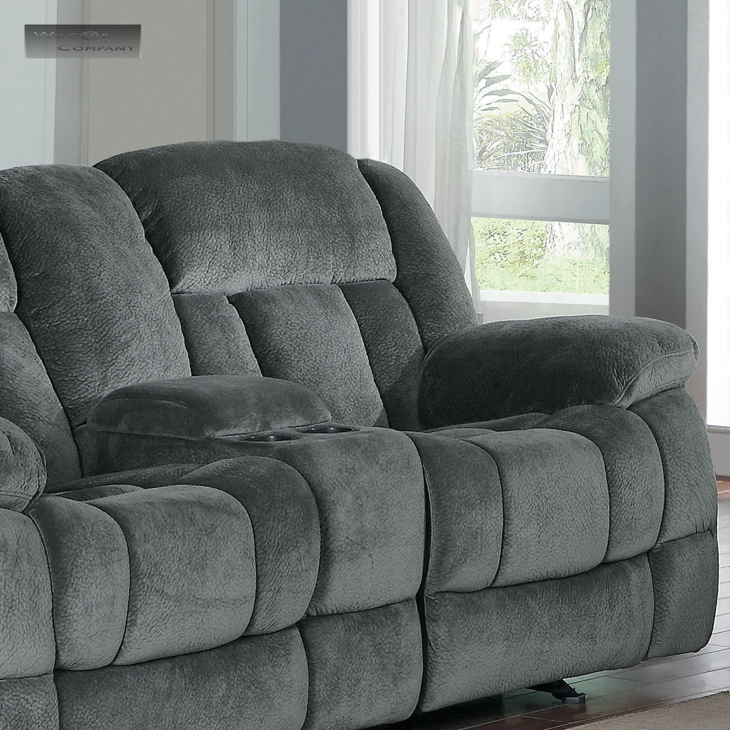Best ideas about Lazyboy Reclining Sofa . Save or Pin New Grey Rocker Glider Double Recliner Loveseat Lazy Sofa Now.