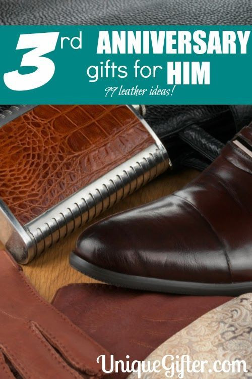 Best ideas about Leather Anniversary Gift Ideas For Him . Save or Pin Ideas Unique and 3rd anniversary ts on Pinterest Now.