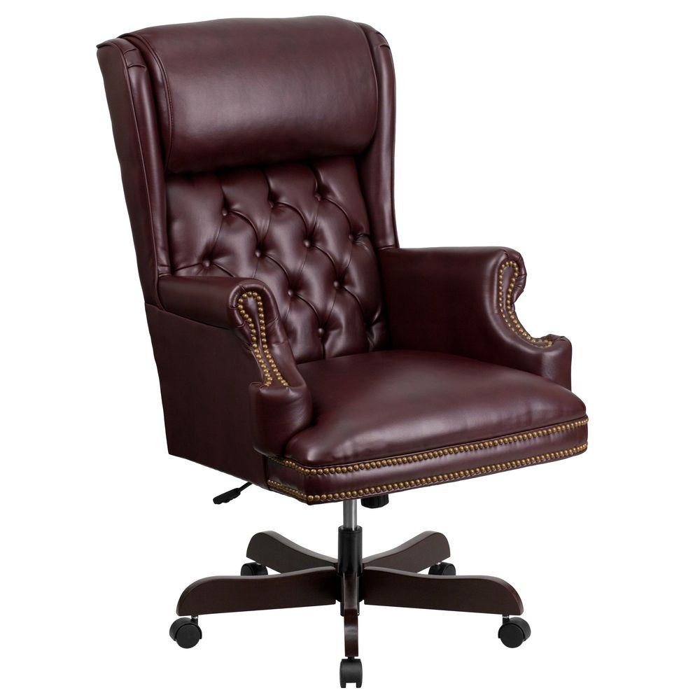 Best ideas about Leather Office Chair . Save or Pin Flash Furniture CI J600 BY GG High Back Traditional Tufted Now.