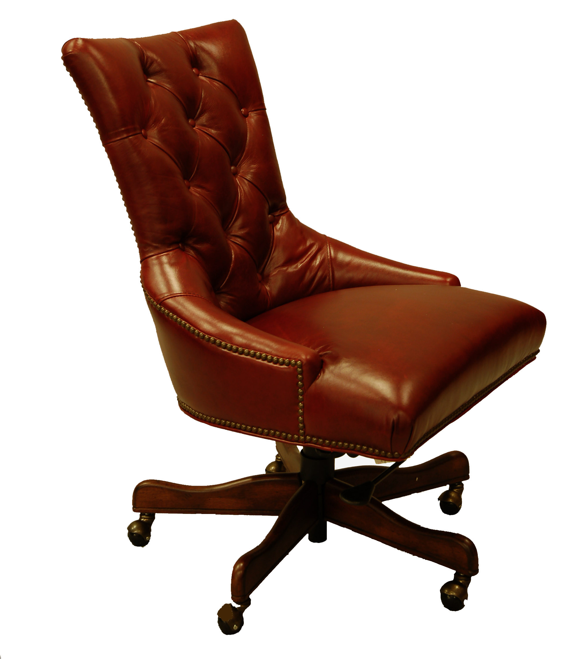 Best ideas about Leather Office Chair . Save or Pin Red Leather Executive fice Desk Chair Now.