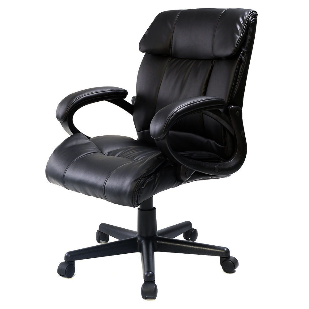 Best ideas about Leather Office Chair . Save or Pin PU Leather Ergonomic High Back Executive Best Desk Task Now.