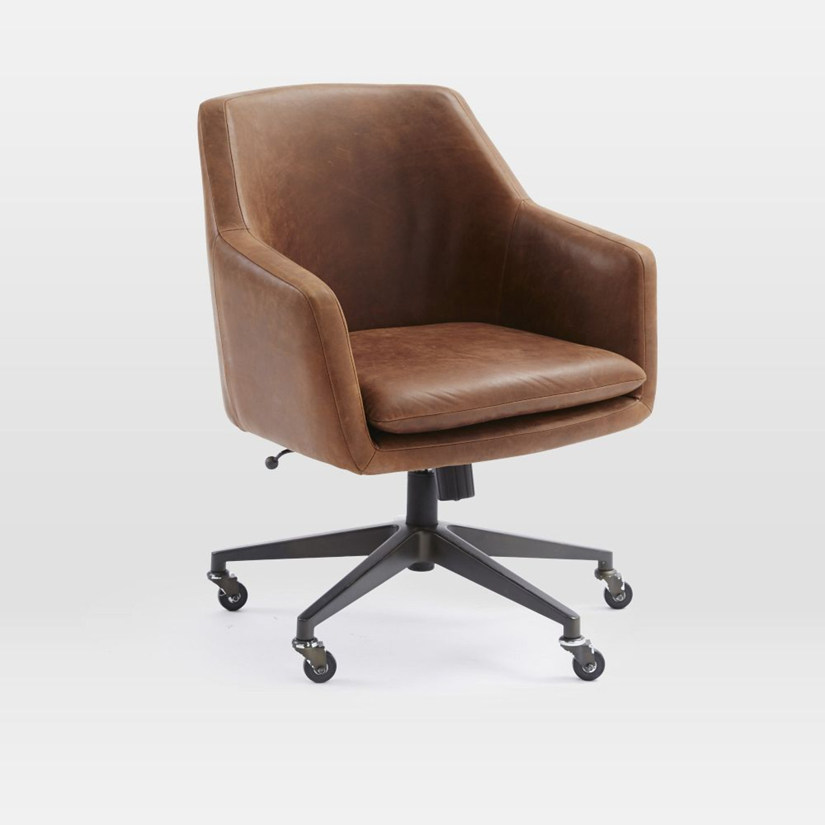 Best ideas about Leather Office Chair . Save or Pin Helvetica Leather fice Chair Now.