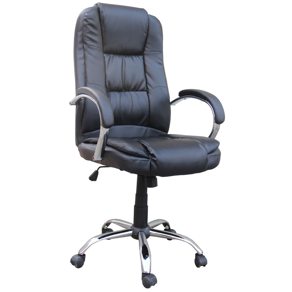 Best ideas about Leather Office Chair . Save or Pin Homegear PU Leather Executive Wheeled puter Desk Chair Now.