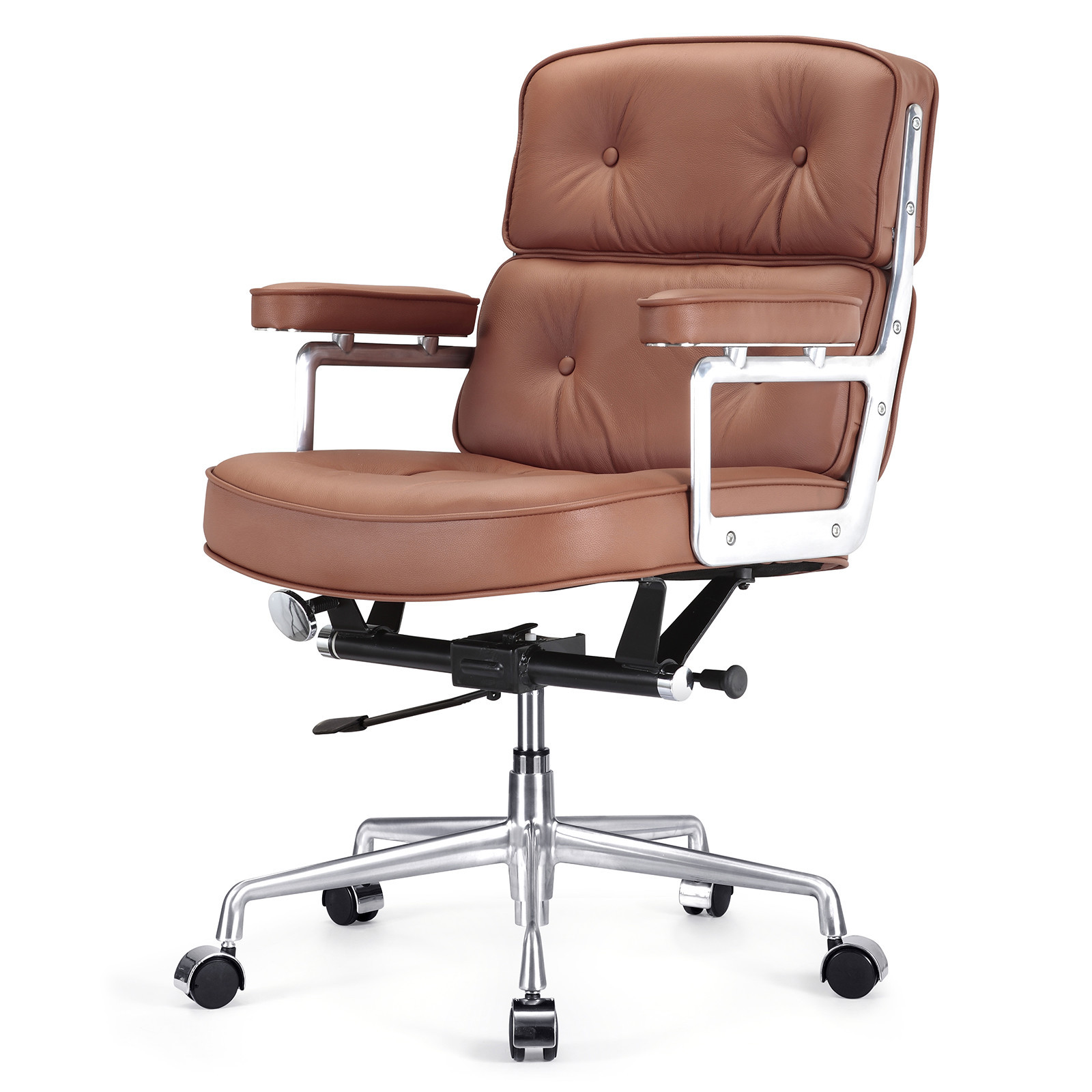 Best ideas about Leather Office Chair . Save or Pin Meelano Leather Desk Chair & Reviews Now.