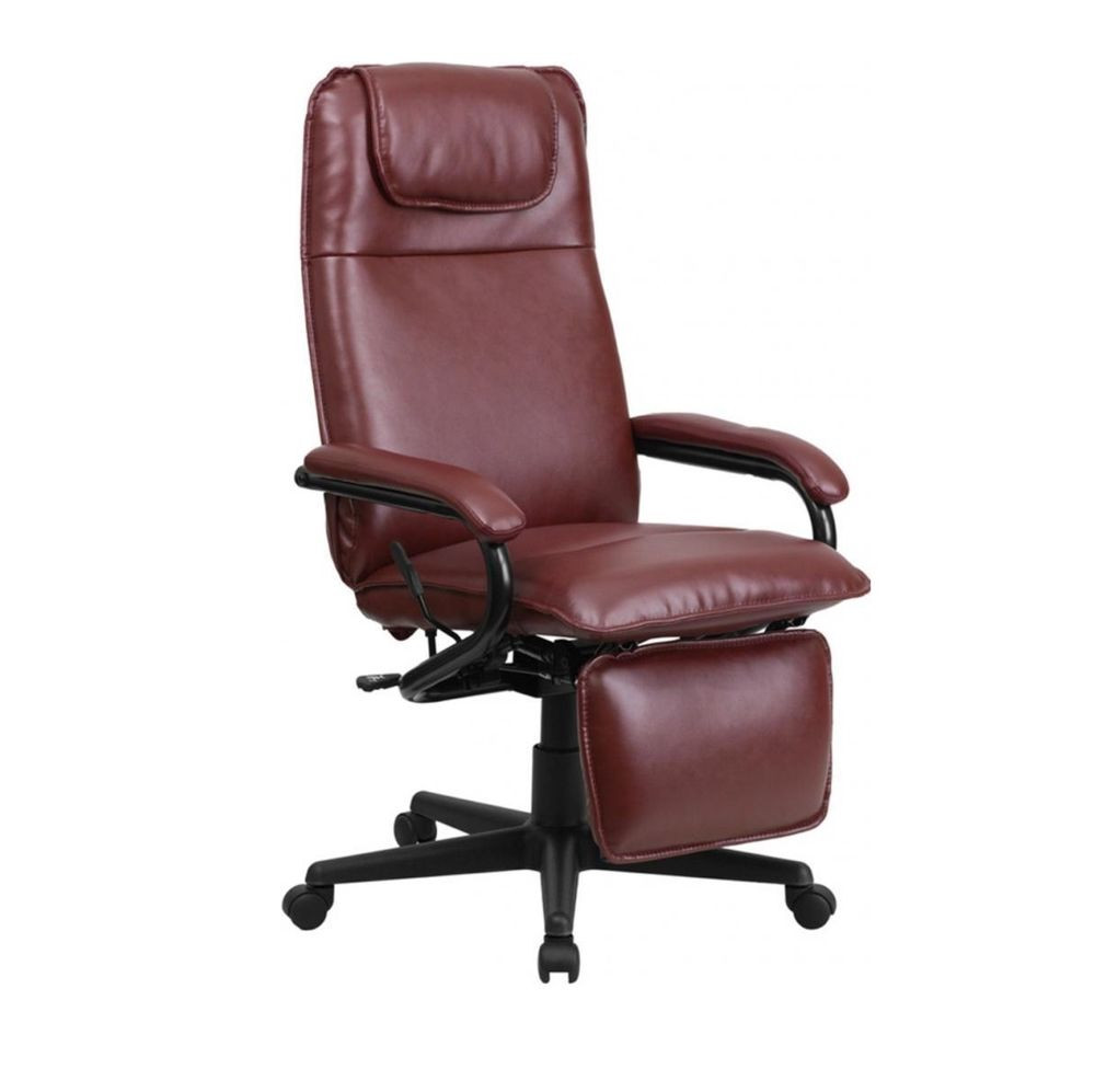 Best ideas about Leather Office Chair . Save or Pin Flash Furniture High Back Burgundy Leather Executive Now.