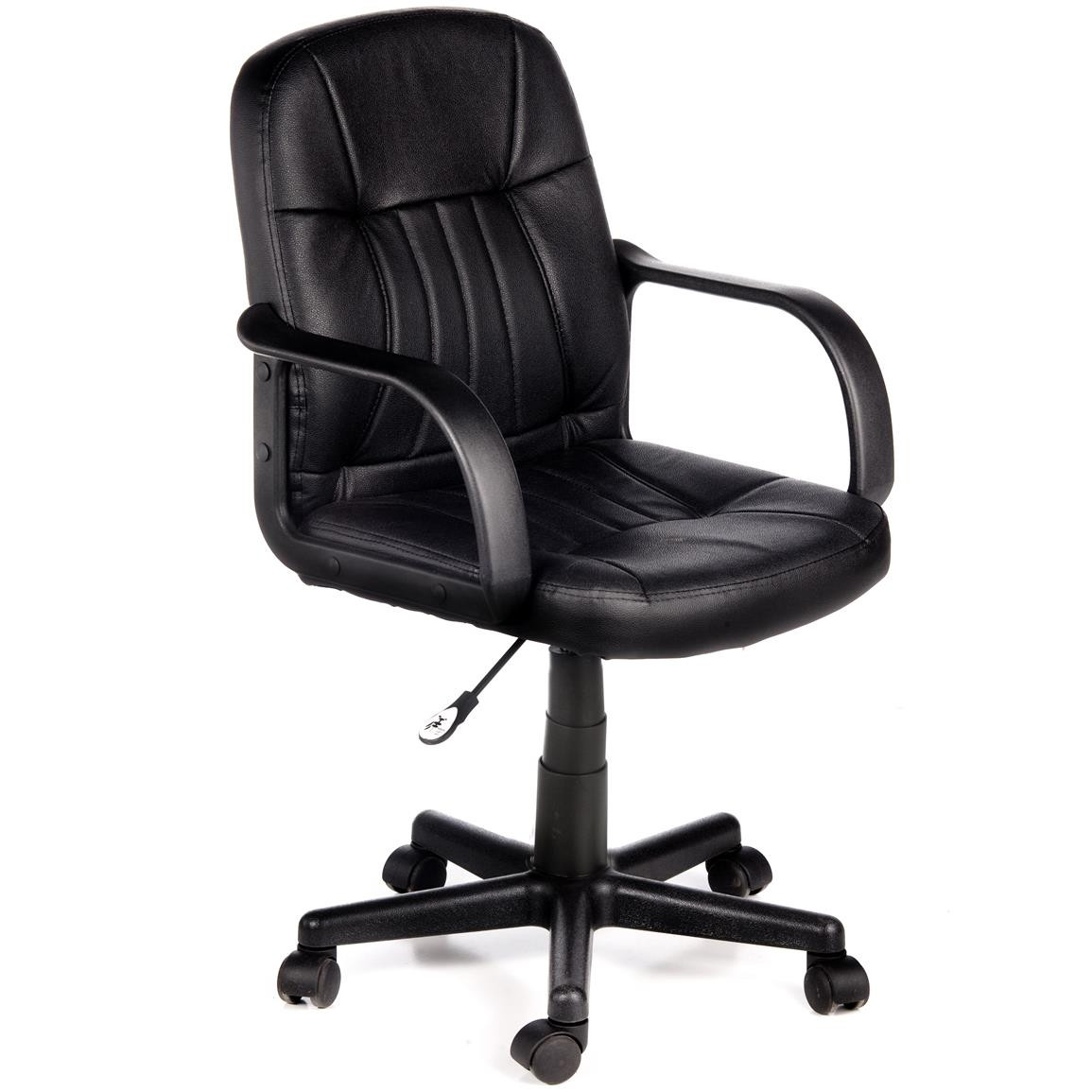 Best ideas about Leather Office Chair . Save or Pin fort Products Mid Back Leather fice Chair Now.