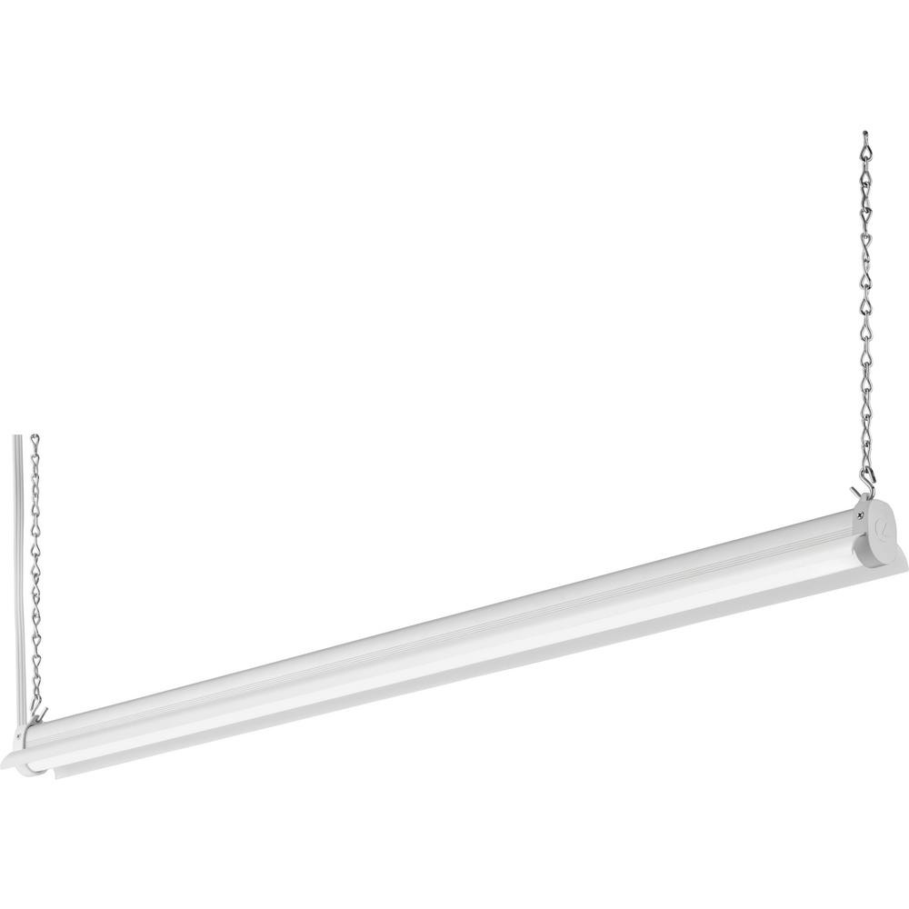 Best ideas about Led Shop Lighting . Save or Pin Lithonia Lighting 2 8 ft 34 Watt White Integrated LED Now.