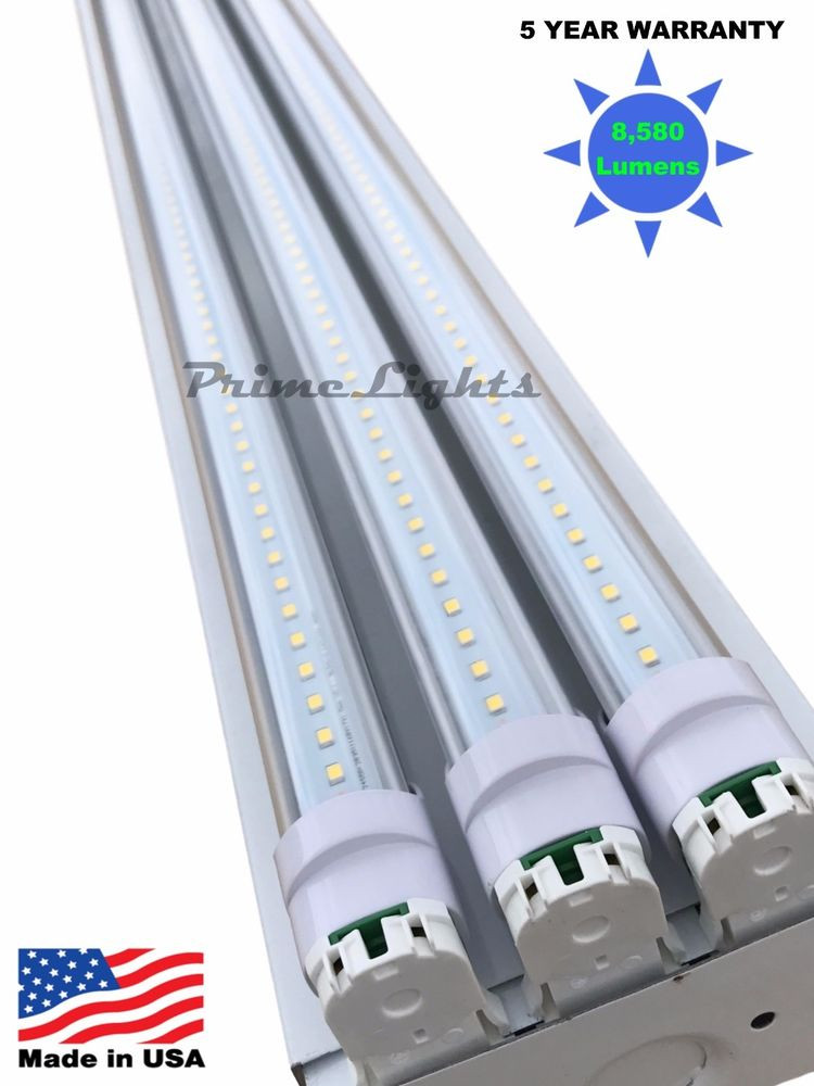 Best ideas about Led Shop Lighting . Save or Pin 66W 5000K Utility LED Shop Light Garage Workbench Ceiling Now.