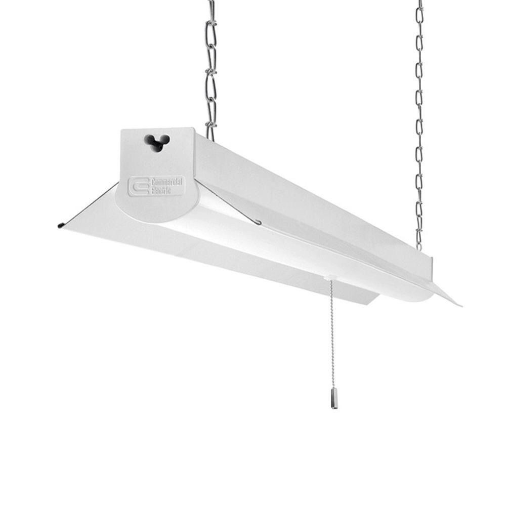 Best ideas about Led Shop Lighting . Save or Pin mercial Electric 4 ft LED Shop Light 36 Watt 3200 Now.