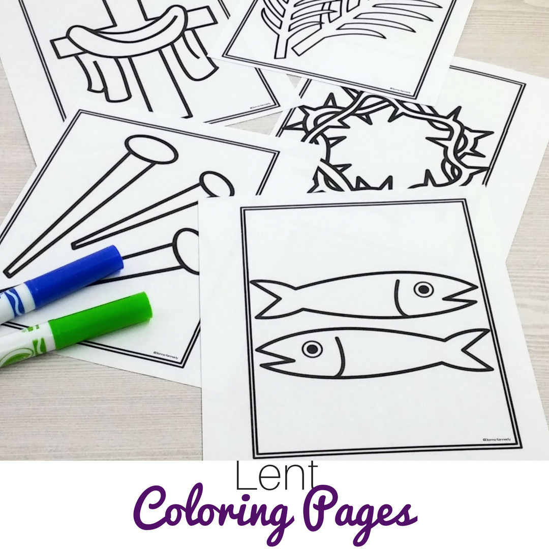 Best ideas about Lent Preschool Coloring Sheets . Save or Pin Lovely Lent Coloring Pages for Preschoolers Now.