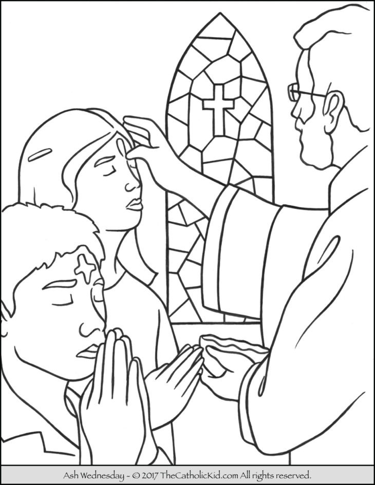 Best ideas about Lent Preschool Coloring Sheets . Save or Pin The Catholic Kid Catholic Coloring Pages and Games for Now.