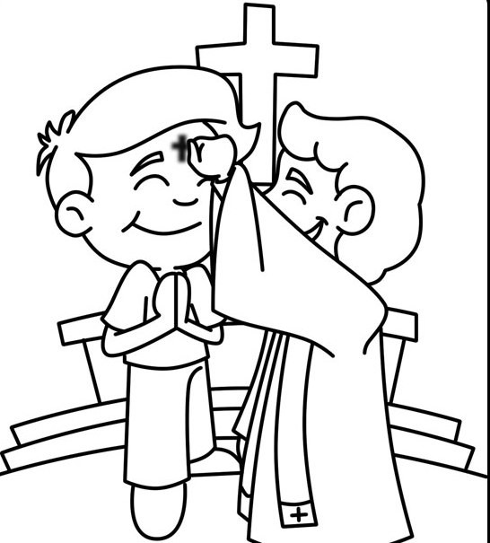 Best ideas about Lent Preschool Coloring Sheets . Save or Pin Ash Wednesday Coloring Pages Best Coloring Pages For Kids Now.