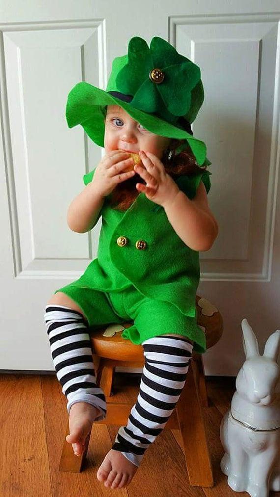 Best ideas about Leprechaun Costume DIY . Save or Pin Baby Leprechaun Costume Leprechaun Prop 1st Birthday Now.