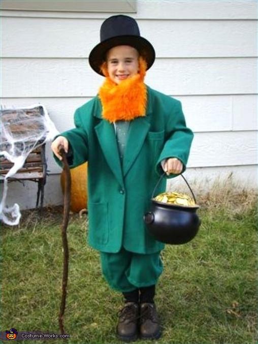 Best ideas about Leprechaun Costume DIY . Save or Pin Leprechaun Homemade Halloween Costume for Boys Now.