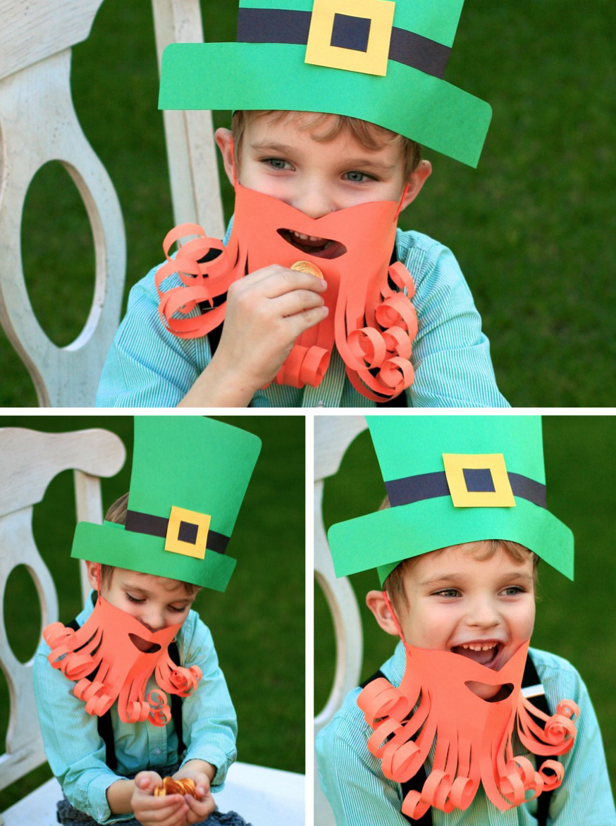 Best ideas about Leprechaun Costume DIY . Save or Pin Simple Leprechaun Dress Up Paging Supermom Now.