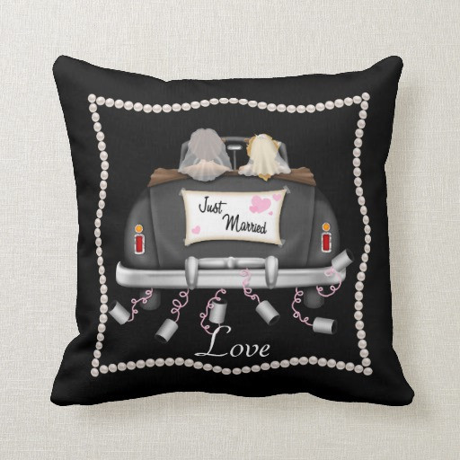 Best ideas about Lesbian Wedding Gift Ideas . Save or Pin LESBIAN WEDDING GIFT Chic Love Pillow Now.