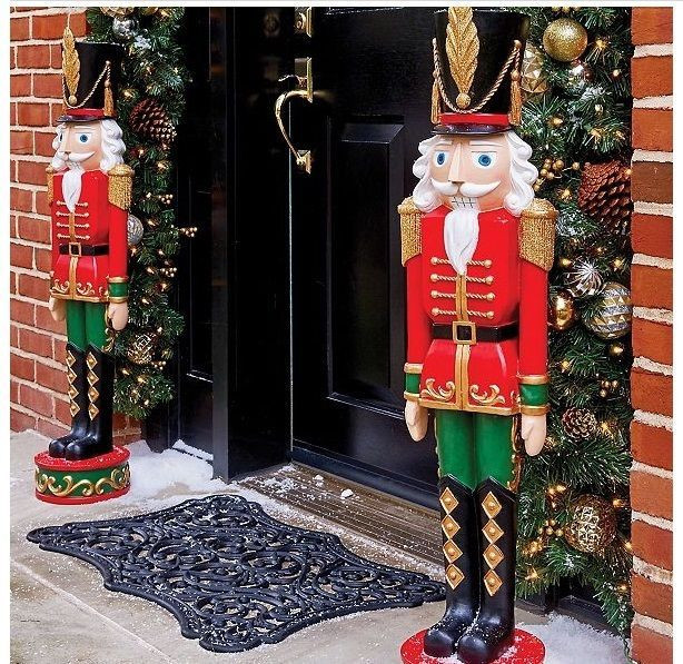 Best ideas about Life Size Nutcracker DIY . Save or Pin Life Size Nutcracker 3ft Indoor Outdoor Christmas Toy Now.