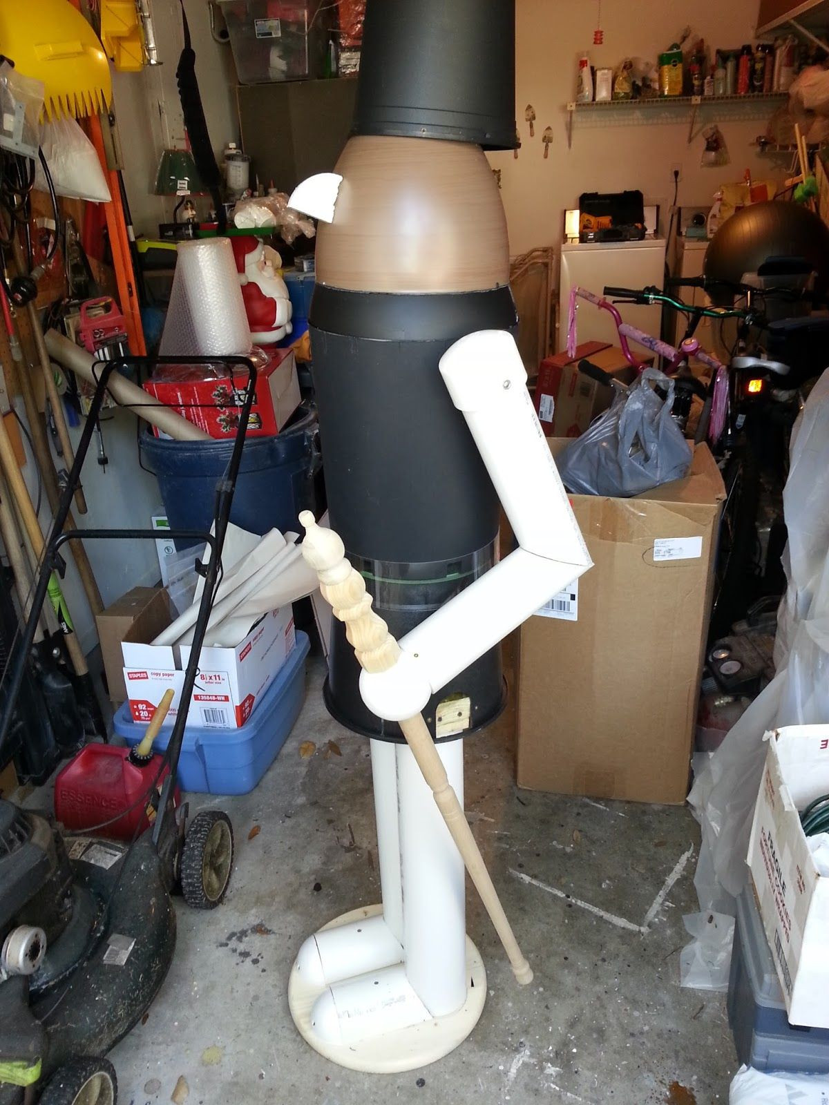 Best ideas about Life Size Nutcracker DIY . Save or Pin DIY Lifesize Nutcracker on a bud Pots Planters and Now.