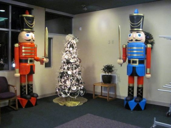 Best ideas about Life Size Nutcracker DIY . Save or Pin Step by step instructions to build these two 9 Now.
