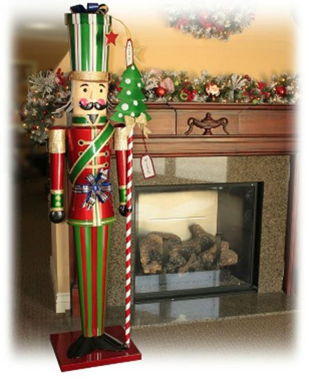 Best ideas about Life Size Nutcracker DIY . Save or Pin New life size over 6 tall christmas holiday metal toy Now.