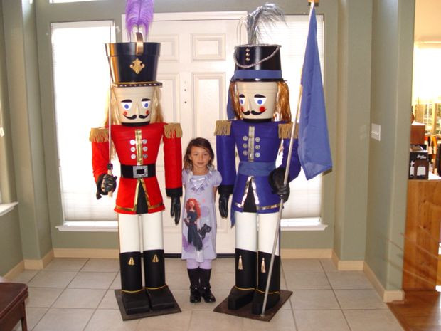 Best ideas about Life Size Nutcracker DIY . Save or Pin Build a 7 Foot Nutcracker From Flower Pots 13 Steps with Now.