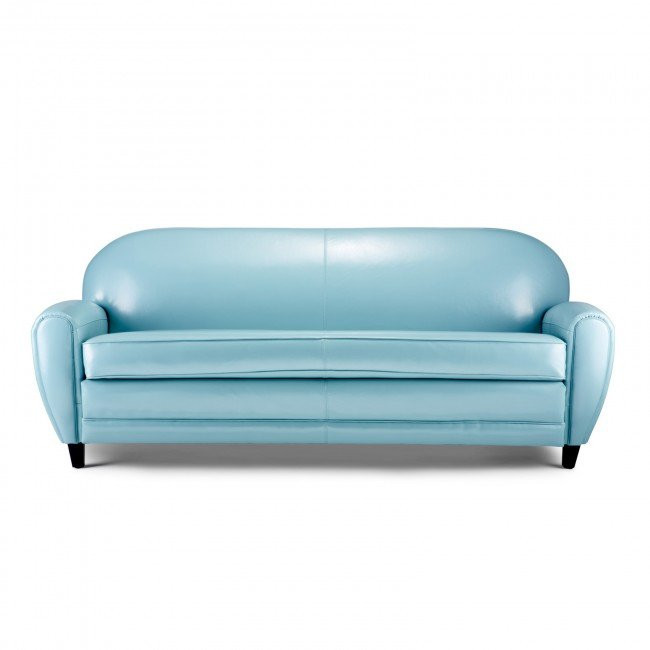 Best ideas about Light Blue Leather Sofa . Save or Pin Light Blue Leather Sofa Home Furniture Design Now.