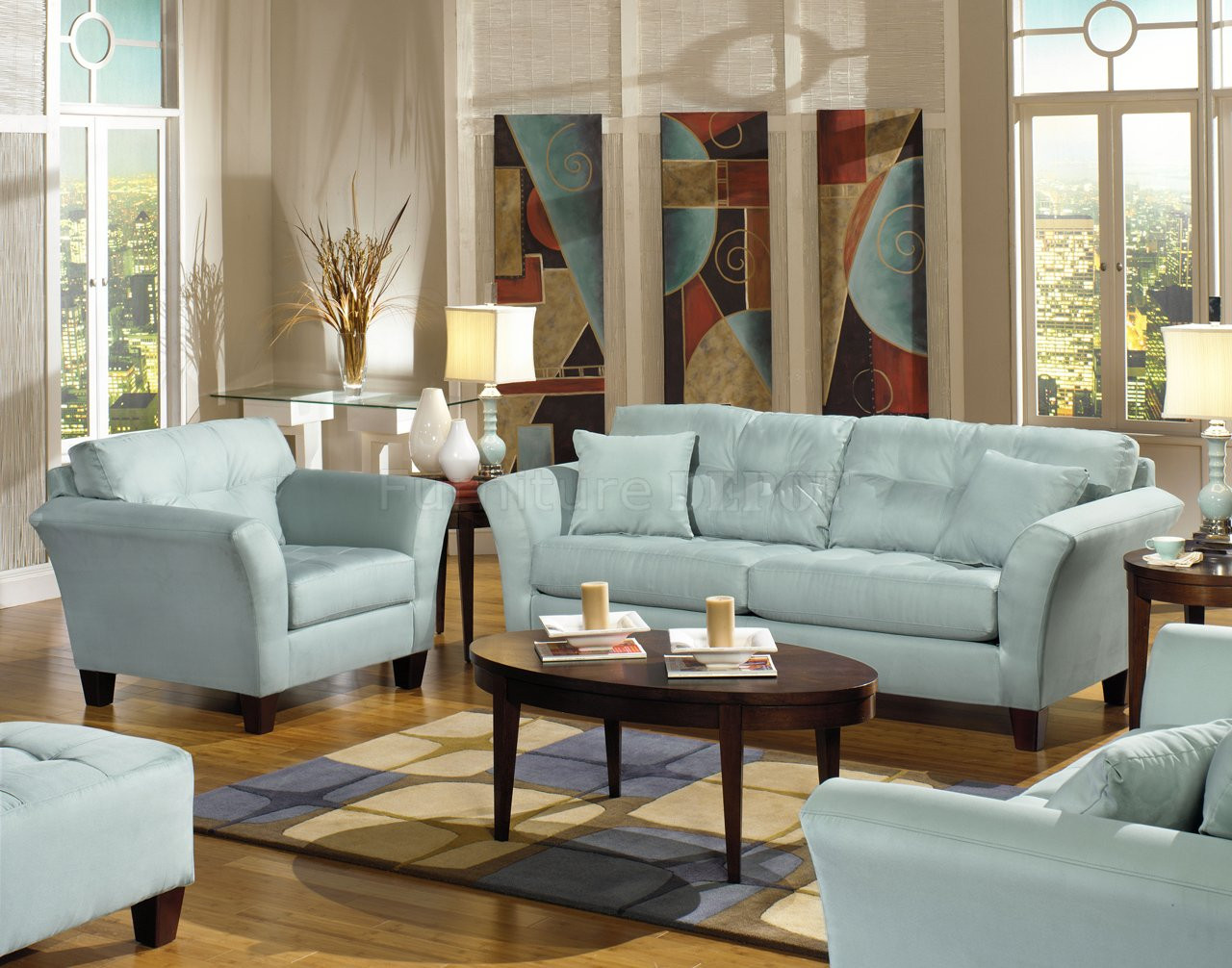 Best ideas about Light Blue Leather Sofa . Save or Pin Navy blue leather furniture light blue leather sofa Now.