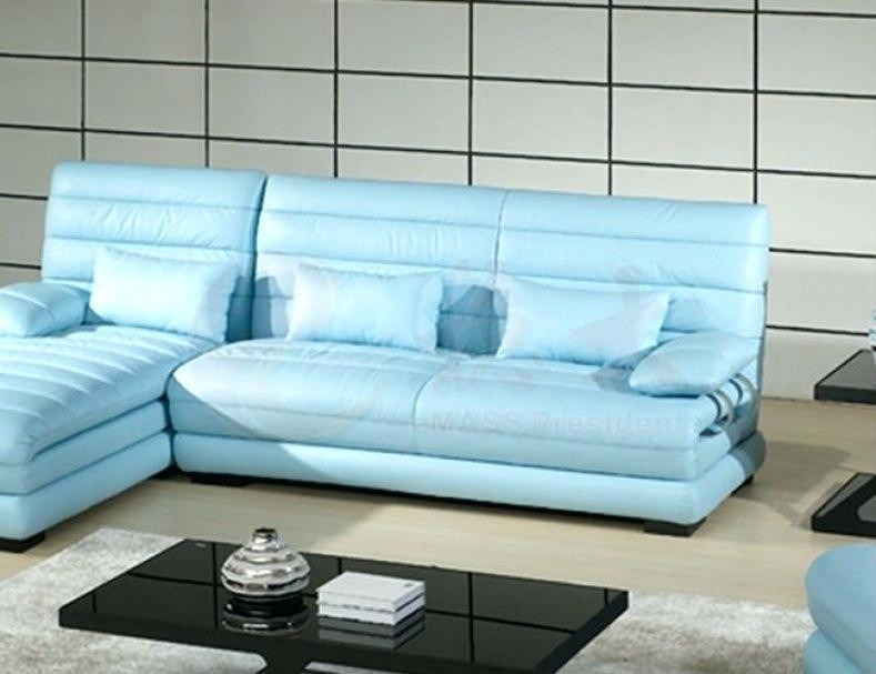 Best ideas about Light Blue Leather Sofa . Save or Pin Baby Blue Leather Sofa Endearing Chic Blue Leather Now.