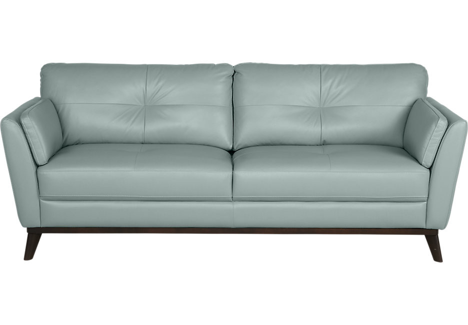 Best ideas about Light Blue Leather Sofa . Save or Pin Light Blue Leather Sofa New Light Blue Couch For Sofas Now.
