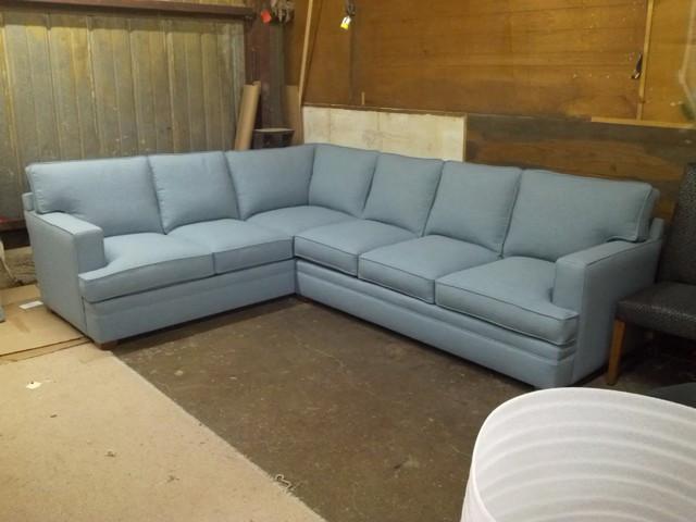 Best ideas about Light Blue Leather Sofa . Save or Pin Light Blue Leather Sectional Sofa Decorate Color Light Now.