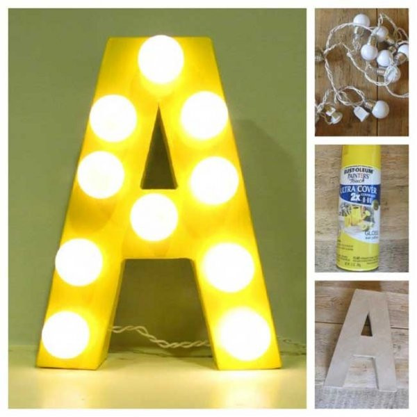 Best ideas about Light Up Letters DIY . Save or Pin DIY Circus Lights Circus Party Ideas Now.