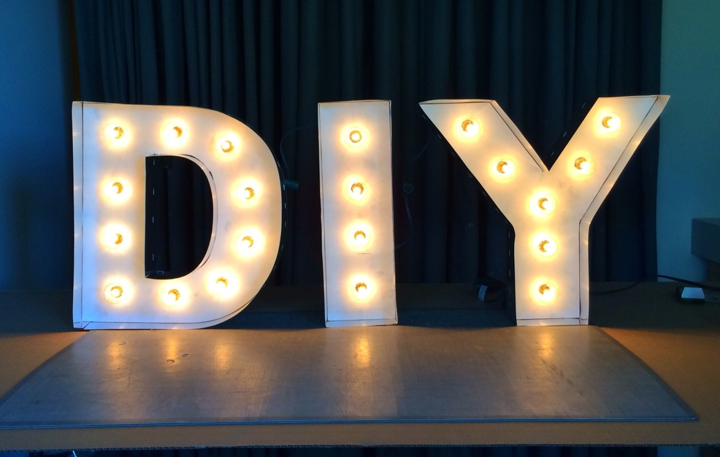 Best ideas about Light Up Letters DIY . Save or Pin 8 Steps to DIY Marquee Letters Now.