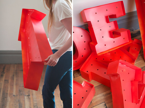 Best ideas about Light Up Letters DIY . Save or Pin Vintage Marquee DIY Now.