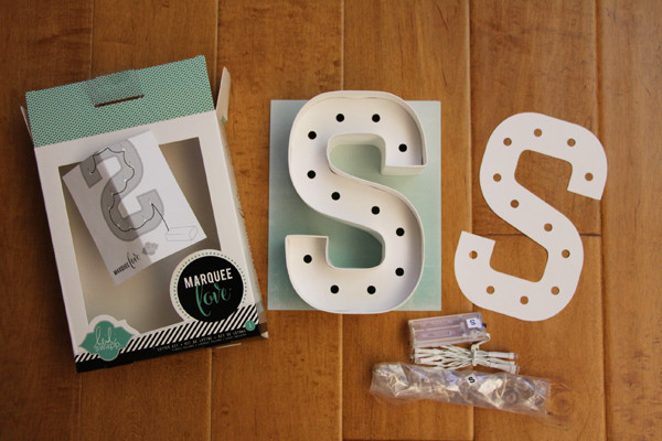 Best ideas about Light Up Letters DIY . Save or Pin DIY Marquee Letter Lights Now.